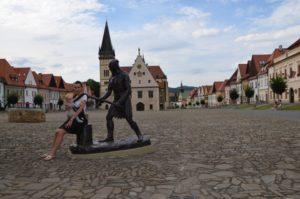 bardejov - socha kata